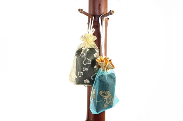 青竹竹炭吊飾包 1