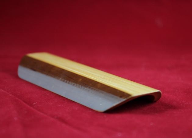 煙燻竹製置物盤 1